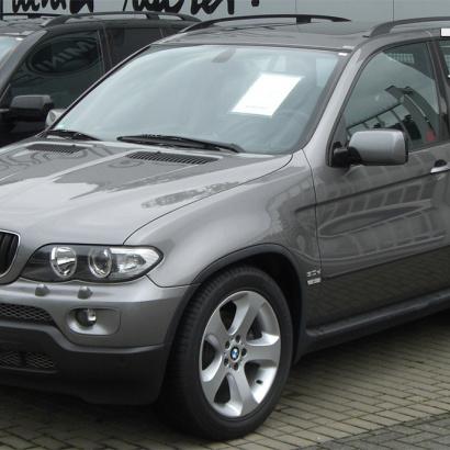 Передние крылья  на BMW X5 E53