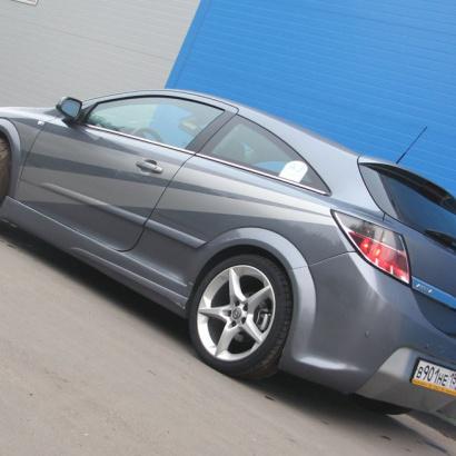 Задний бампер - Обвес на Opel Astra H GTC