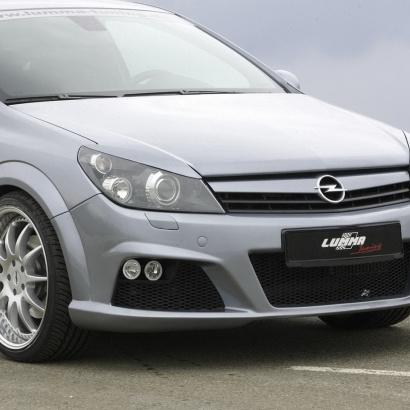 Передний бампер - Обвес на Opel Astra H GTC