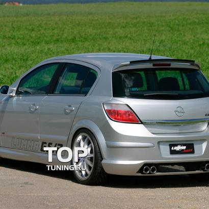 Спойлер (5 дв.) на Opel Astra H 5D