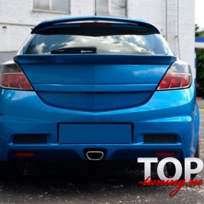 Нижний спойлер на Opel Astra H GTC