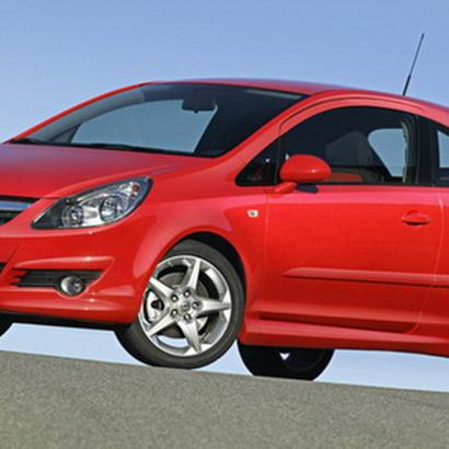 Обвес на Opel Corsa D