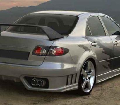 Задний бампер - Обвес на Mazda 6 GG, GY