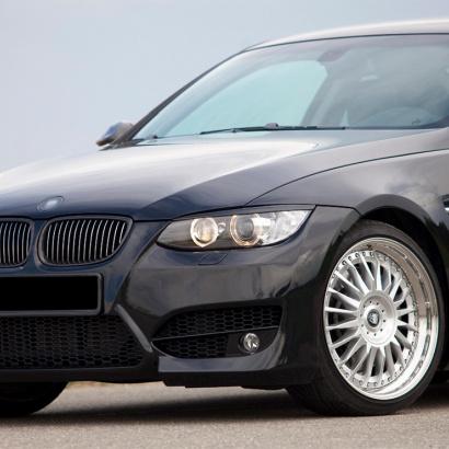 Передний бампер - Обвес на BMW 3 E92