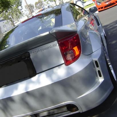 Обвес Wide Body - расширители задних крыльев на Toyota Celica T23
