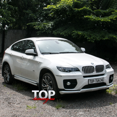 Аэродинамический обвес на BMW X6 E71