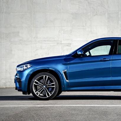 Вставки в крылья (жабры) на BMW X6 F16
