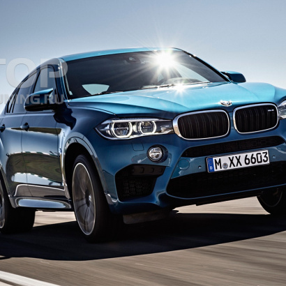 Корпуса зеркал на BMW X6 F16