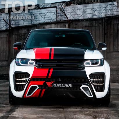 Аэродинамический обвес на Land Rover Range Rover Sport 2
