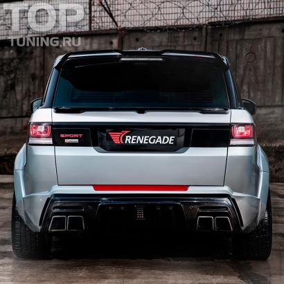 Задний бампер на Land Rover Range Rover Sport 2