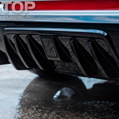 Стоп-сигнал в задний бампер на Land Rover Range Rover Sport 2