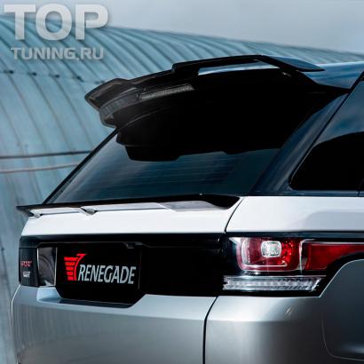 Накладка на верхний спойлер  на Land Rover Range Rover Sport 2