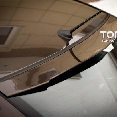 Козырек на заднее стекло на Kia Rio 3