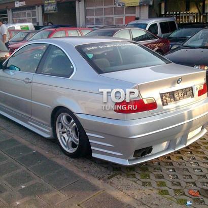 Задний бампер - Обвес на BMW 3 E46