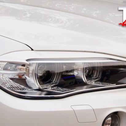 Накладки на фары на BMW X5 F15