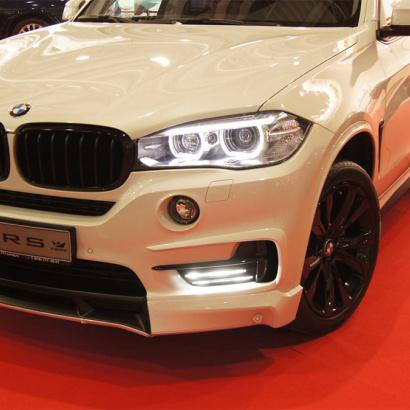 Накладки на передний бампер на BMW X5 F15