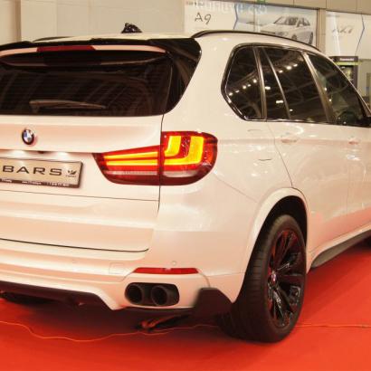 Элероны заднего бампера на BMW X5 F15