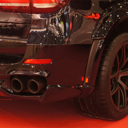 Задние габаритные огни в арки на BMW X5 F15