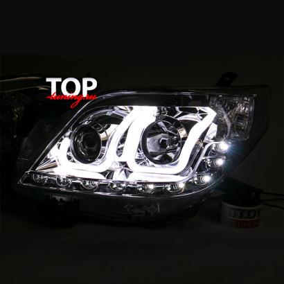 Светодиодная оптика на Toyota Land Cruiser Prado 150