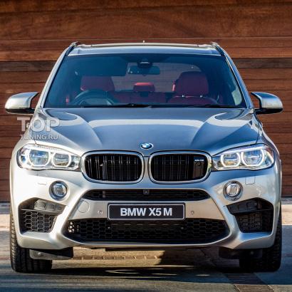 Передний бампер X5M на BMW X5 F15