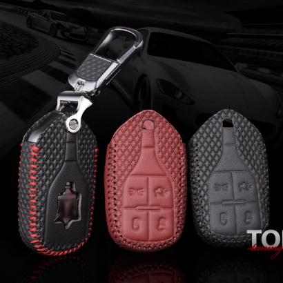 Кожаный чехол для смарт ключа Luxury Line на Maserati