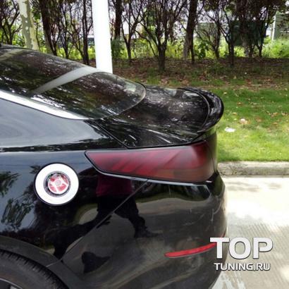 Спойлер на крышку багажника на Kia Optima 3 (K5)