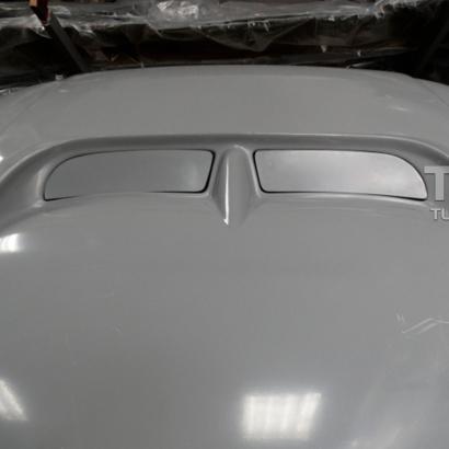 Заглушки капота на Mitsubishi Galant 8
