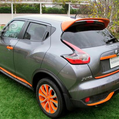 Спойлер GT Fiber на Nissan Juke