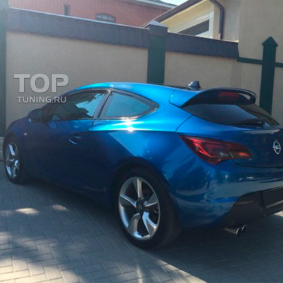 Спойлер Duck Tail на Opel Astra J