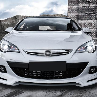 Юбка на передний бампер JMS на Opel Astra J