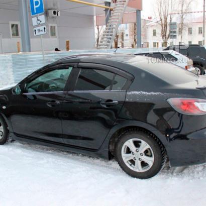 Комплект порогов на Mazda 3 BL