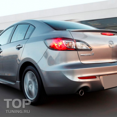 Лип-спойлер на Mazda 3 BL
