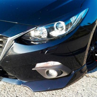Накладки на фары на Mazda 3 BM