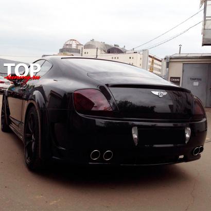 Лип-спойлер на крышку багажника Mansory на Bentley Continental GT 1