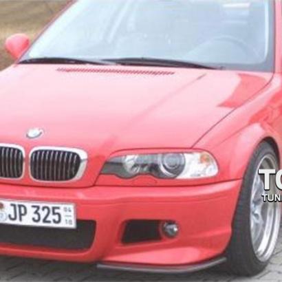 Передний бампер - Обвес на BMW 3 E46