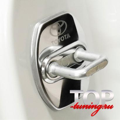 Заглушки на скобу двери на Toyota Land Cruiser Prado 150
