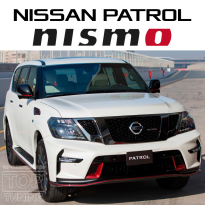 Аэродинамический обвес на Nissan Patrol Y62