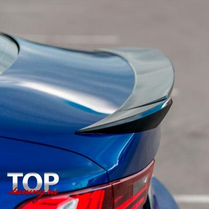 Спойлер на крышку багажника на Lexus IS 3