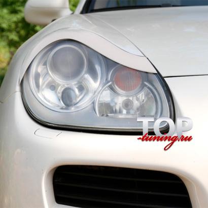 Реснички на Porsche Cayenne 955