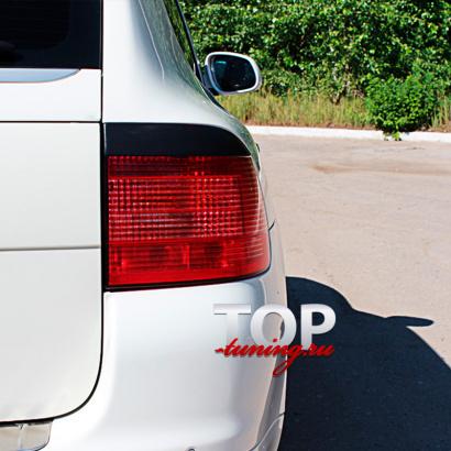 Реснички на задние фонари на Porsche Cayenne 955