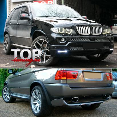 Аэродинамический обвес на BMW X5 E53