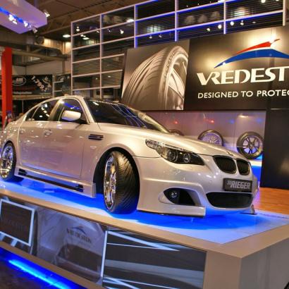 Пороги - Обвес Rieger на BMW 5 E60, E61, M5