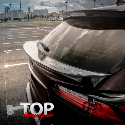 Спойлер на крышку багажника на Lexus NX
