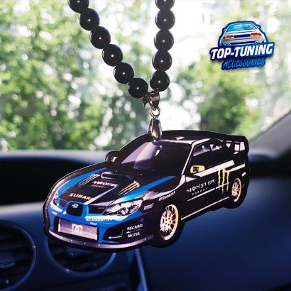 Подвеска на зеркало в салон WRX SRi на Subaru