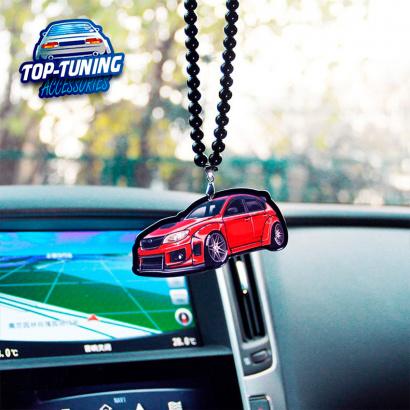 Подвеска на зеркало на Subaru