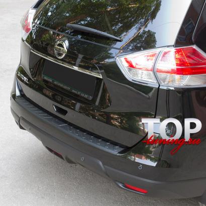 Протектор на задний бампер BASTION на Nissan X-Trail T32