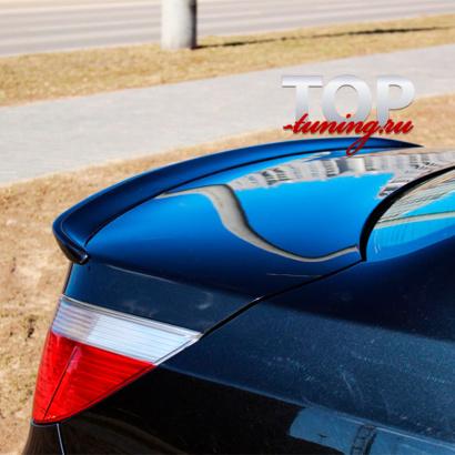 Спойлер на крышку багажника на BMW 5 E60, E61, M5