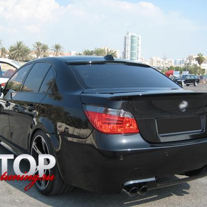 Козырек на заднее стекло на BMW 5 E60, E61, M5