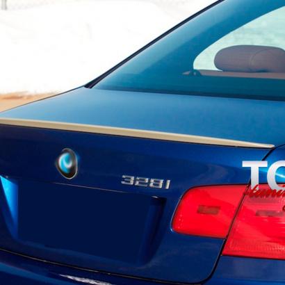 Лип-спойлер на BMW 3 E92