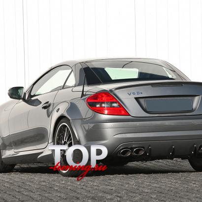 Лип-спойлер на Mercedes SLK R171